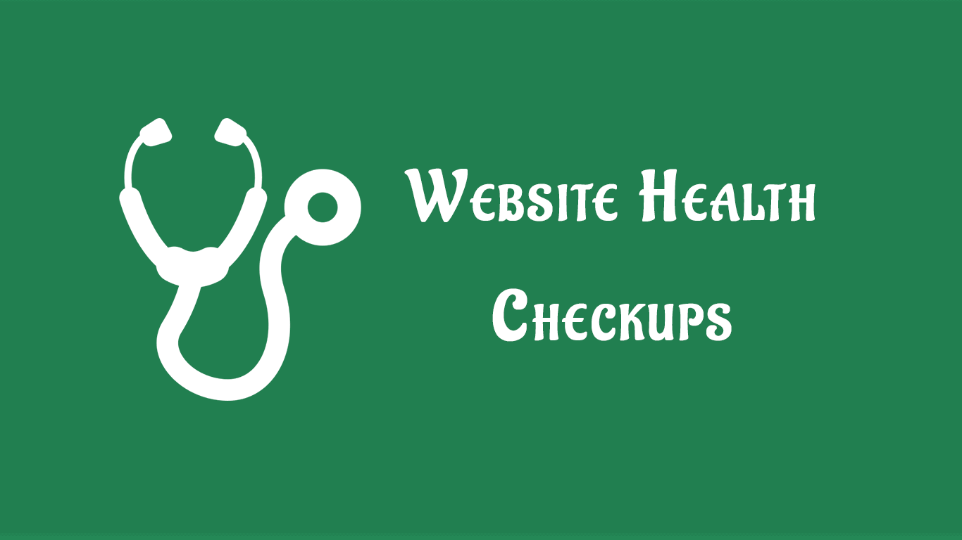 Website Health Checkups
